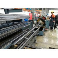 China Warehouse Storage Racks Upright Teardrop Frames Roll Forming Machine for sale
