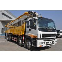 Wholesale 47m Boom Concrete Pump Truck 5 Sections RZ-type 32Mpa Oil Pressure from china suppliers