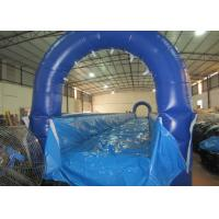 Inflatable no slope runway water slide long Inflatable level water slide for children for sale