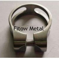 Wholesale Titanium Bike Parts GR5 6Al/4V Titanium Bicycle Seat Clamp 31.8MM from china suppliers