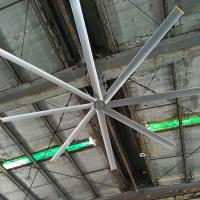 China 8 Blade Warehouse Ceiling Fans 4.2m Big Diameter Farm Style Ceiling Fans on sale