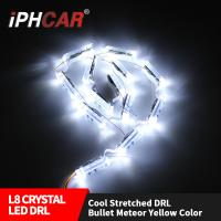 Wholesale IPHCAR 500MM-700MM Stertch Led DRL fog Car Headlight Led Daytime Running Light Led Strip from china suppliers