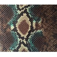 Wholesale Eco Friendly Anti AgingFaux Snakeskin Vinyl Fabric For Fashion Bags from china suppliers