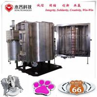 Buy cheap Automotive LOGOs Chroming Pvd Chrome Vacuum Metalizing Machine from wholesalers