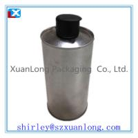 Wholesale round tin oil box from china suppliers
