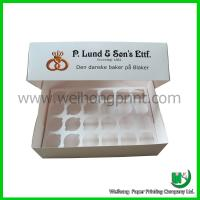 Buy cheap Custom cupcake box with PVC window from wholesalers