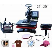 Quality CE-Approval Digital 5 in 1 Combo Heat Transfer Machine Cy-S1 for sale
