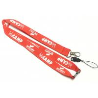 Wholesale Cell Phone Neck Strap White Logo Safety Break Metal Hook Smartphone Neck Strap from china suppliers