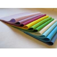 Wholesale 100% polyester needle punched non-woven  colorful felt / multi color felt from china suppliers