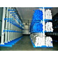 Quality Long Span Cantilever Storage Racks , Single / Double Sided High Density Racking System for sale