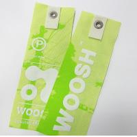 Wholesale OK3D lenticular print tag for clothes and shoes/Flip effect lenticular hang tag for garment from china suppliers