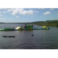 Wholesale Floating Inflatable Obstacle Course , Inflatable Water Obstacle Course Rental from china suppliers