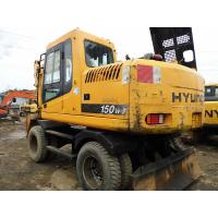 Wholesale Used HYUNDAI 150W-7 Wheel Excavator For Sale from china suppliers