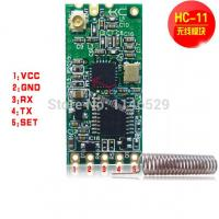 Quality HC-11 433 wireless module to serial C1101 low power microcontroller development remote for sale