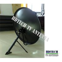 China KU-BAND 80cm Residential Television Antenna Satellite Dish TV on sale