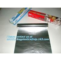 Wholesale Embossed aluminum foils, parchment paper, cling film, ice cube bag, pommes paper,oven bags from china suppliers