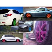 Wholesale High Gloss Auto Spray Paint / Red Rubber Car Paint Spray CanImpact Resistance from china suppliers