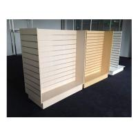 Wholesale Customized Slatwall Display Units , Store Display Shelving For Sport Clothing Shop from china suppliers