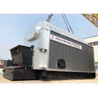 China Industrial 4 Ton Wood Coal Fired Steam Boiler Automatic Coal Feeding for sale