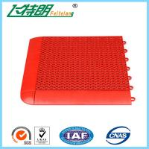 Wholesale Outdoor Interlocking Rubber Floor Tiles Kindergarten Playground Plastic Flooring from china suppliers