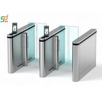 Wholesale Automatic Supermarket Swing Gate, Wide Lane Turnstile Disabled Access Swing Barrier from china suppliers