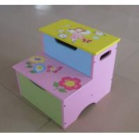 Wholesale Superway 2015 new style Wooden Animal children step stool for storage from china suppliers