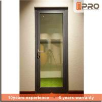 Multi Color Aluminium Hinged Doors With Powder Coated Surface Treatment for sale