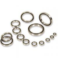 Buy cheap MR62, MR85, MR95 Textile machine Miniature ball bearings by sliver, Black from wholesalers