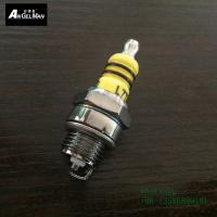 Quality Colorful Ceramice 2 electrodes Chainsaw Spark Plug L7T WS7F / BPM7A / CJ7Y / W20MU / W22MPU for sale