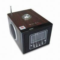 Wholesale Real Sound Multimedia Speaker for iPod, with LED Display and Remote Control from china suppliers