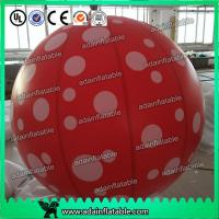 Wholesale Event Party Hanging Decoration Red 1m Inflatable Spot Balloon With LED Light from china suppliers