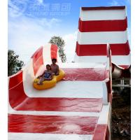 Wholesale Amusement Rainbow Mushroom Swimming Pool Water Slide / Outdoor Water Play Equipment from china suppliers