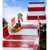 Buy cheap Amusement Rainbow Mushroom Swimming Pool Water Slide / Outdoor Water Play from wholesalers