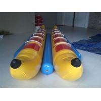 Wholesale 10 Seats Inflatable Toy Boat , Double-tripple stitch Inflatable Banana Boat from china suppliers