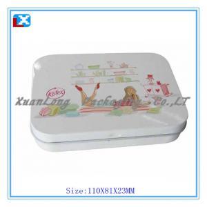 Quality Tin box mint tin box tin case for sale