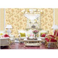 Wholesale Fashion Flower Embossed Wall Covering Italy Style Embossed Floral Wallpaper from china suppliers