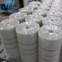Wholesale 10x10mm White Color 110 g/m2 Fiberglass Mesh For Marbles , Long Service Life from china suppliers