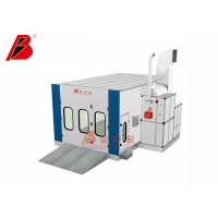 China Microcomputer Control Bus Spray Booth on sale