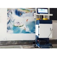Wholesale 500ml Pigment 14sqm/H 720*1440DPL Wall Mural Printing Machine from china suppliers