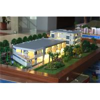 Wholesale 1 / 100 Scale Villa 3D Model Villa Resort Type Painted / Layered Color from china suppliers