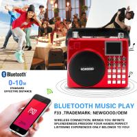 Wholesale Newgood 20W Bluetooth Outdoor Music Player with Voice recording and Handle from china suppliers
