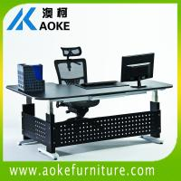 metal height adjustable desks for sale