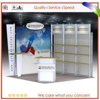 Wholesale Modular Exhibition Stand Aluminum Booth Light weight Easy Set Up from china suppliers