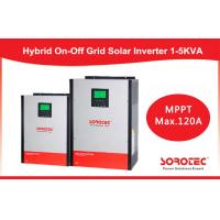Wholesale Hybrid On / off grid solar inverter 2kva 2000w with 80A MPPT Controller from china suppliers
