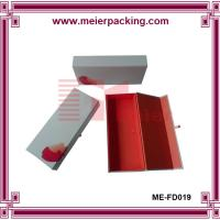 Wholesale Solid paper scarves box/Jean packaging cardboard box/Clothing foldable paper box ME-FD019 from china suppliers