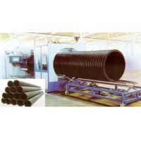 Wholesale Hollow Wall HDPE Pipe Extrusion Machine , 200 - 2000mm Large Diameter from china suppliers
