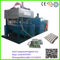 China automatic recycled waste paper pulp machine/egg tray machine/egg tray production line on sale