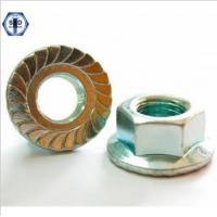 Wholesale DIN 6923 Flange Nuts with Threaded Connection Flange from china suppliers