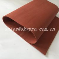 Wholesale Red / Transparent Soft Flexible Silicone Rubber Foam Sheet Thickness 0.1-30mm from china suppliers