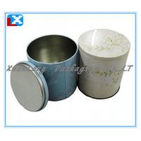 Wholesale round shape metal tea tin box from china suppliers
